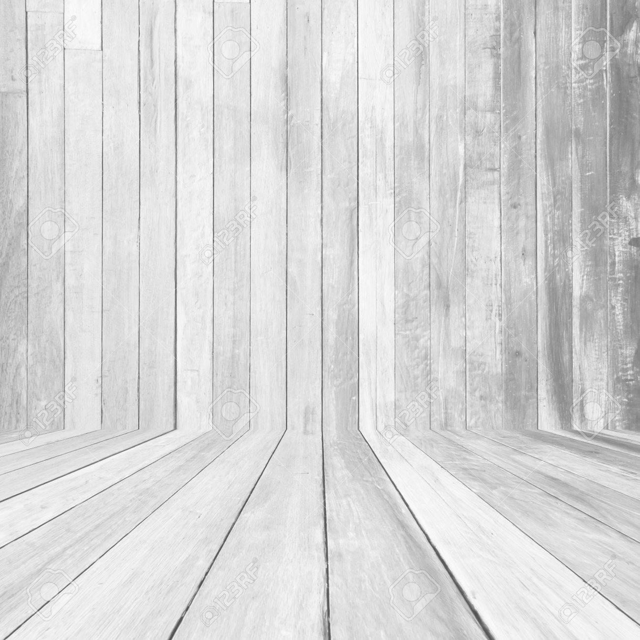perspective white wood floor panel background stock photo 58822676