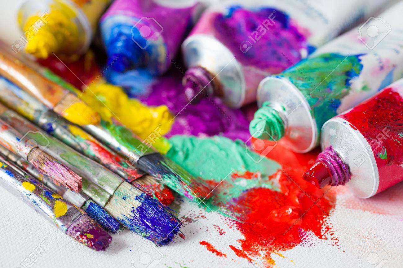 """Résultat de recherche d'images pour """"pinceau toile peinture"""""""