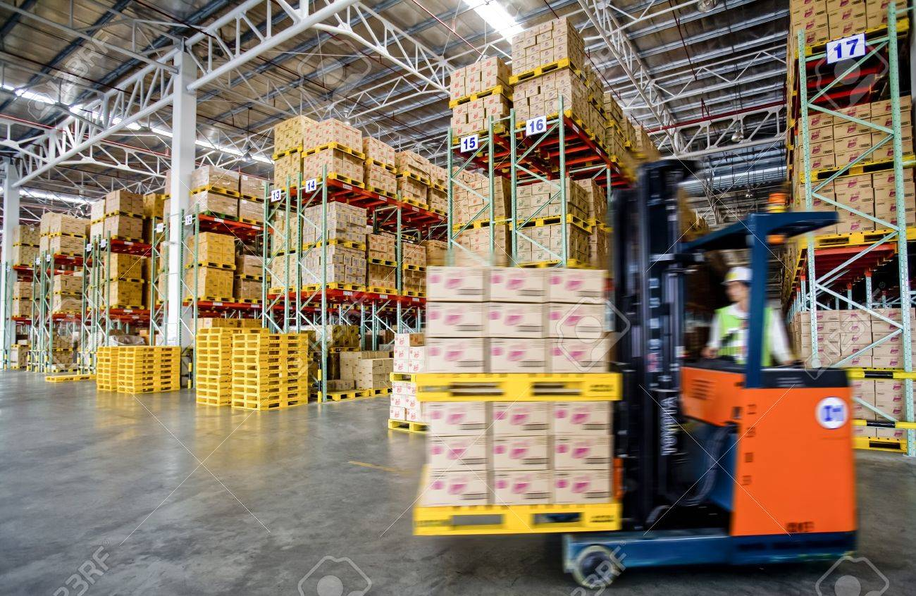 warehouse worker driver in uniform Stock Photo - 19710554