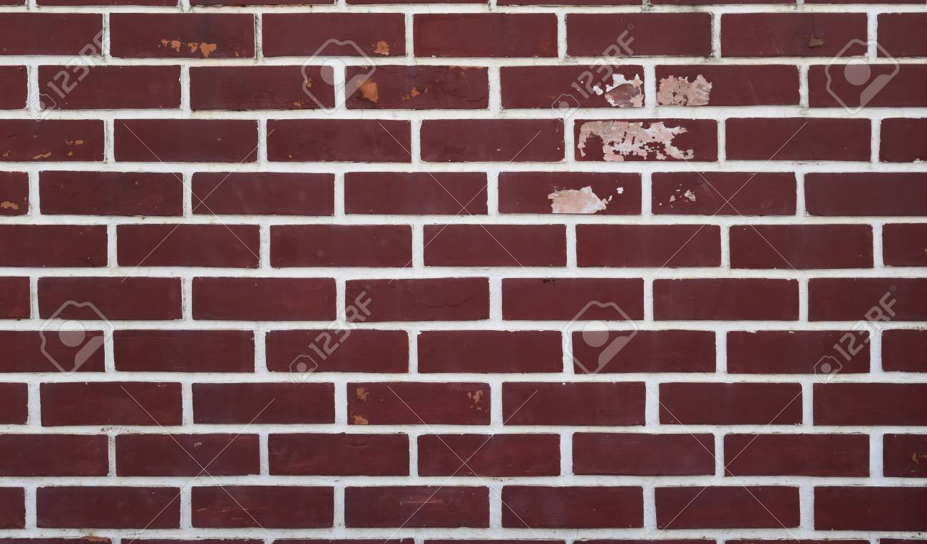 Red Brick Wall Background Style Decor Grunge Peeling Paint Stock Photo Picture And Royalty Free Image Image 86876680