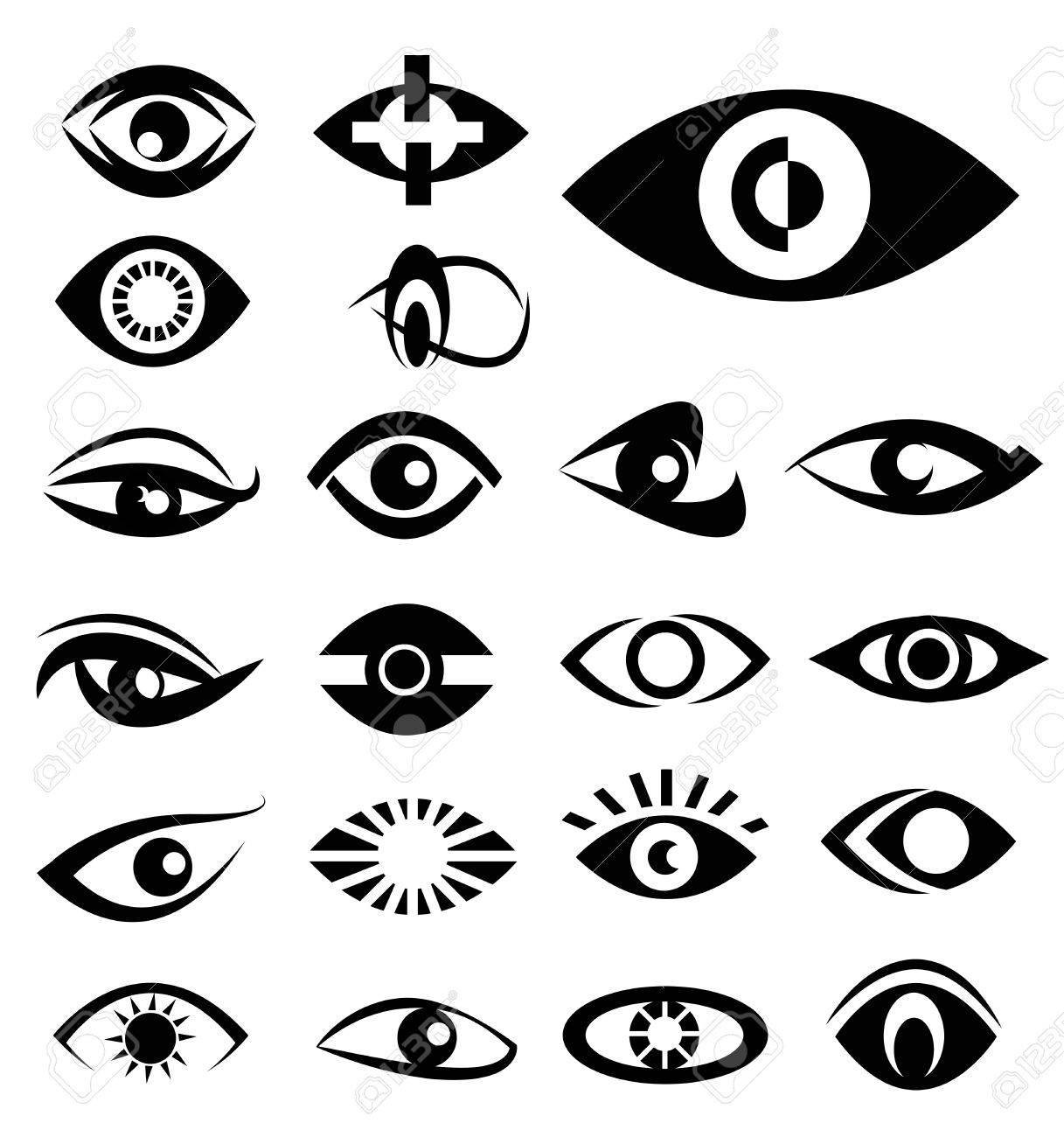 Eyes designs vector - 30749390