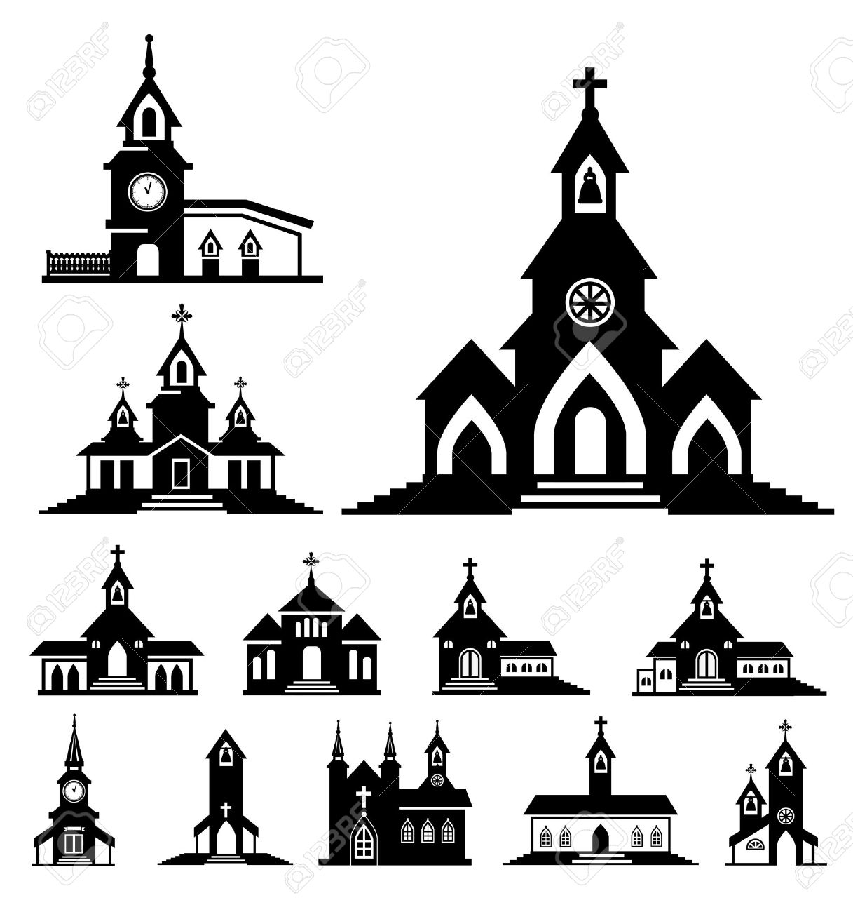 vector church - 30749395