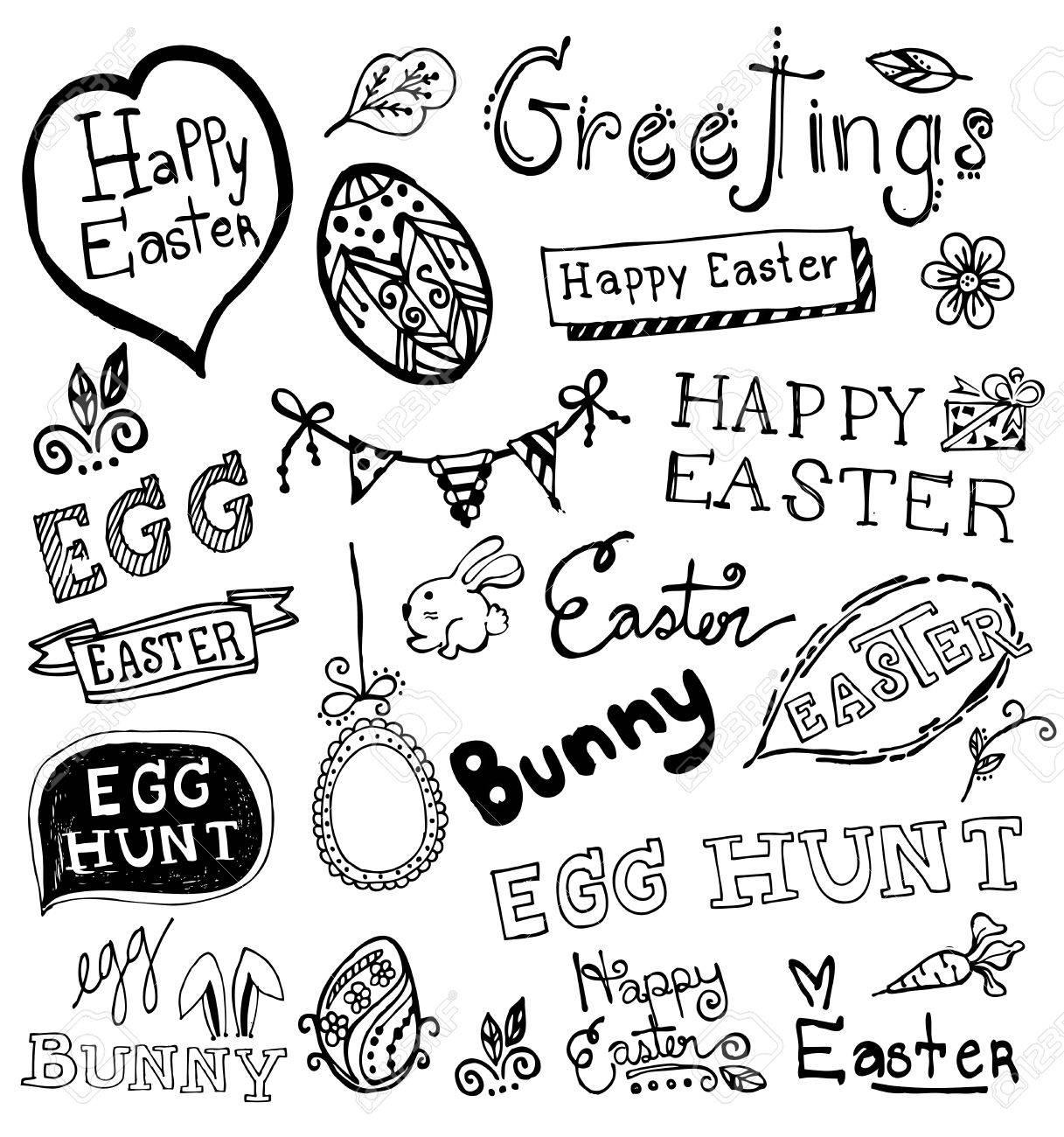 Doodle Easter. - 37237311