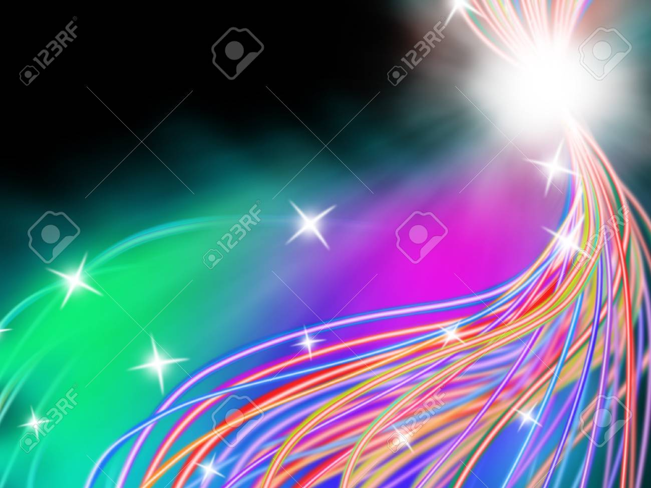 Abstract glossy line Stock Photo - 15150172