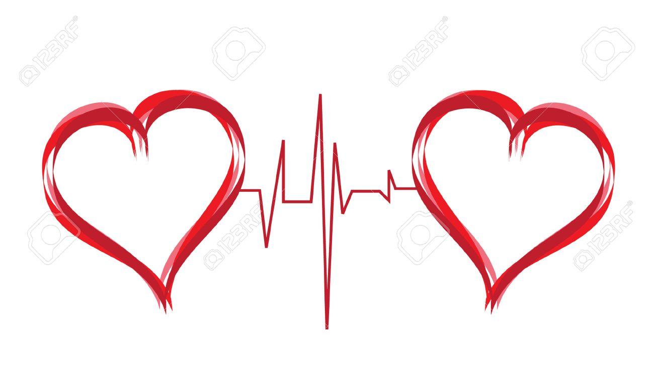 Abstract Hearts Symbol Of Love Royalty Free Cliparts Vectors And
