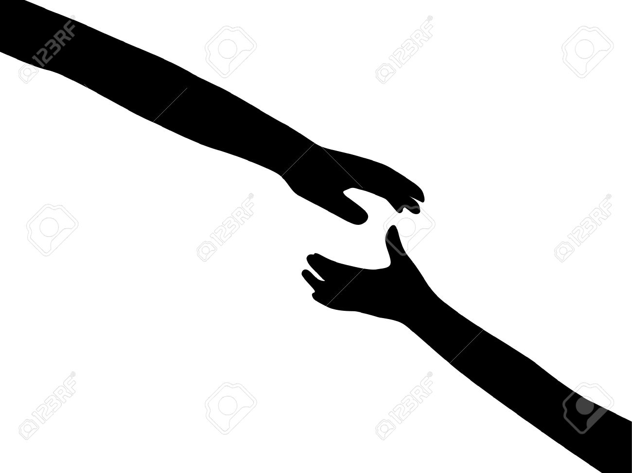 Human hands symbol of hope royalty free cliparts vectors and human hands symbol of hope buycottarizona Image collections