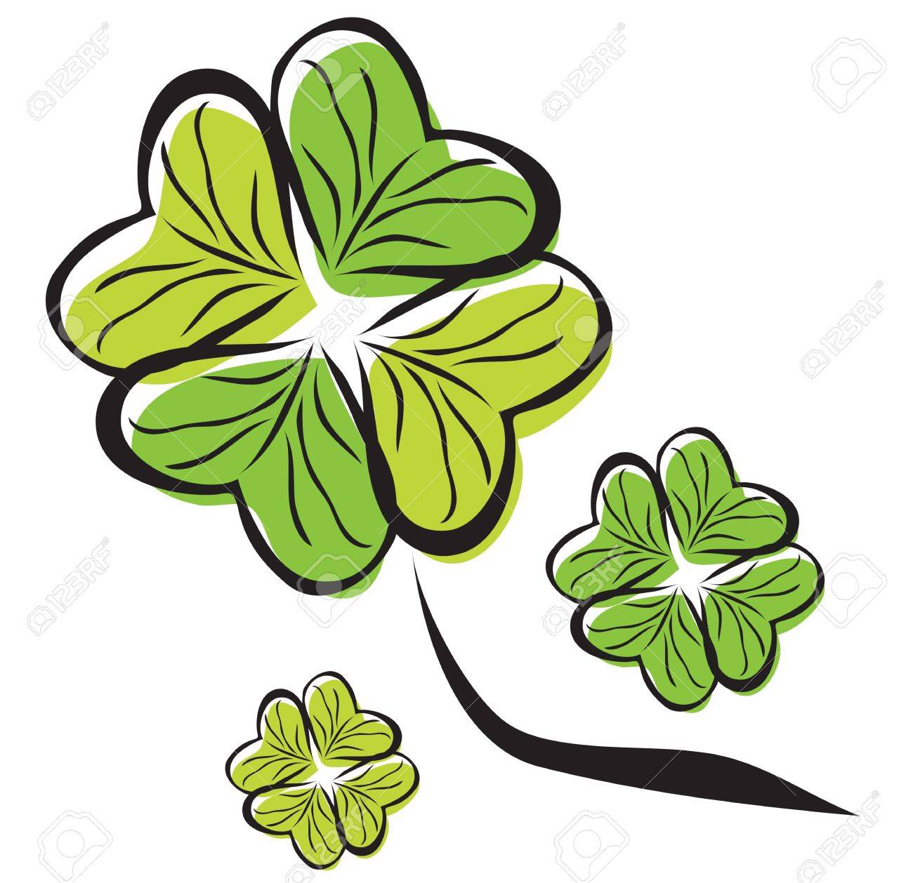 four leaf clover Stock Vector - 19264769