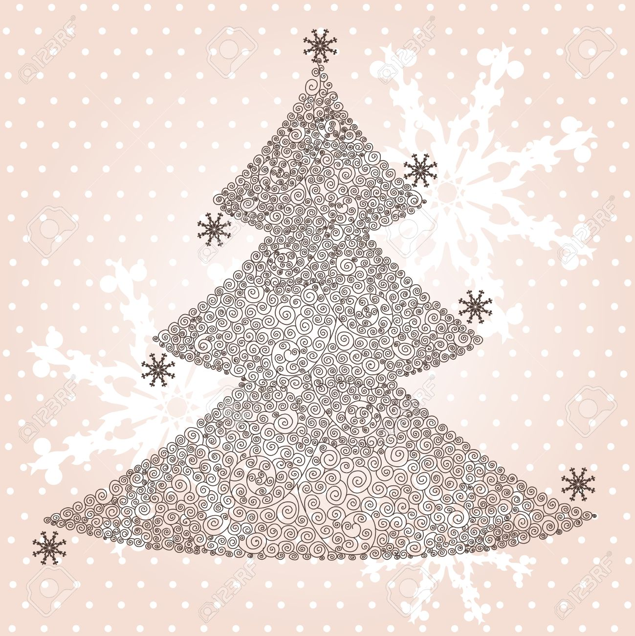 elegant weihnachten und neujahr einladung mit platz für text, Einladungen