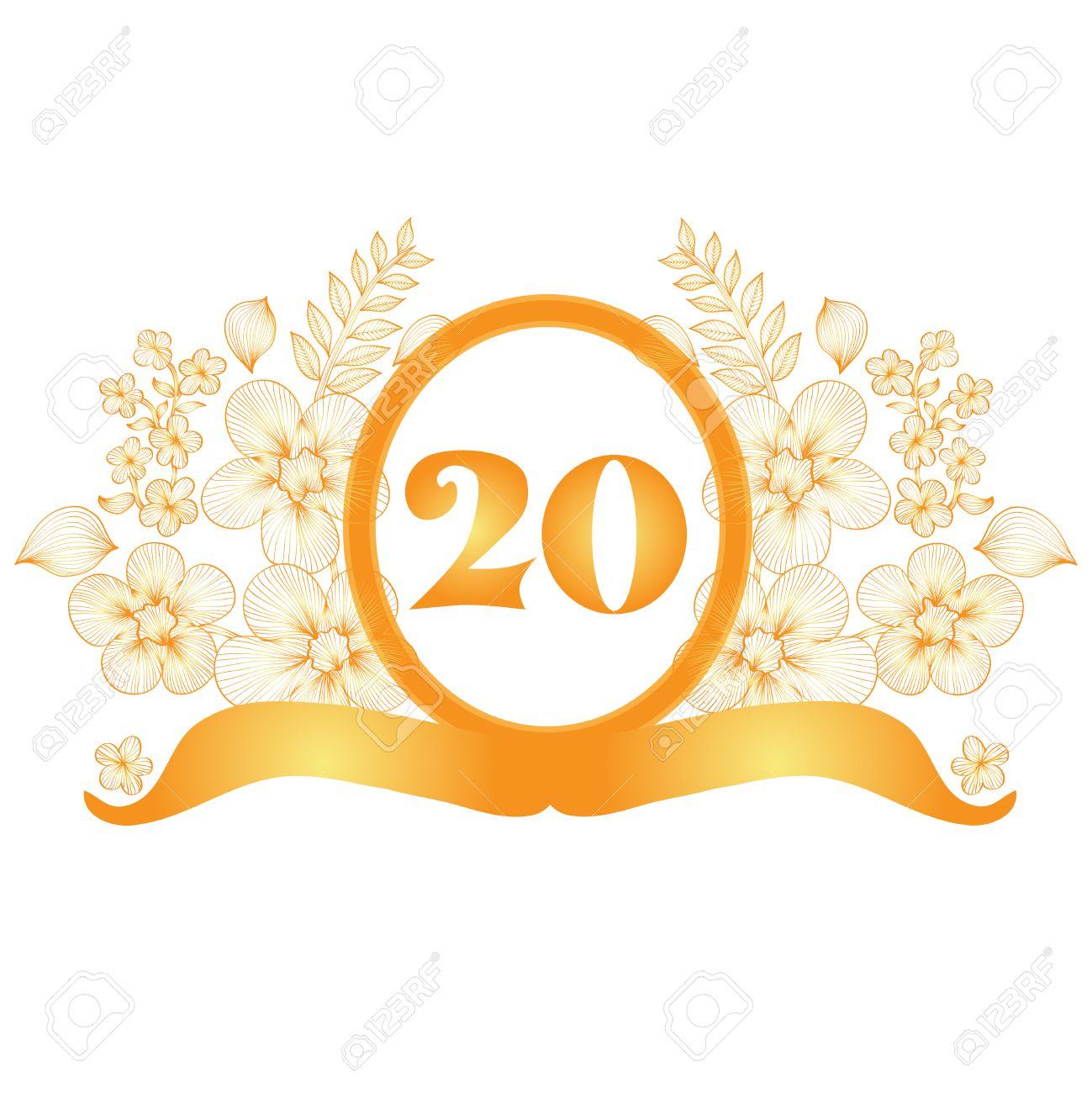 anniversary banner design