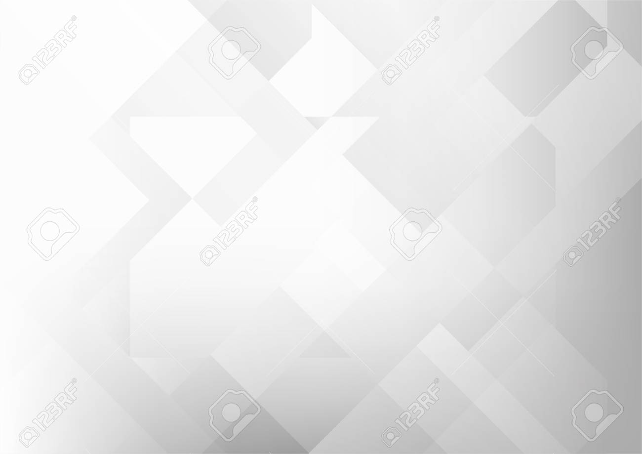 5247dbf090db Abstract grey and white tech geometric corporate design background eps 10.Vector  illustration Banque d