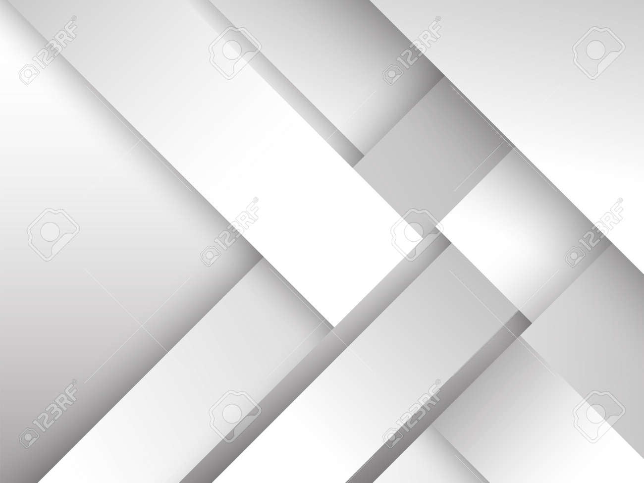 abstract white background with smooth lines - 145040924