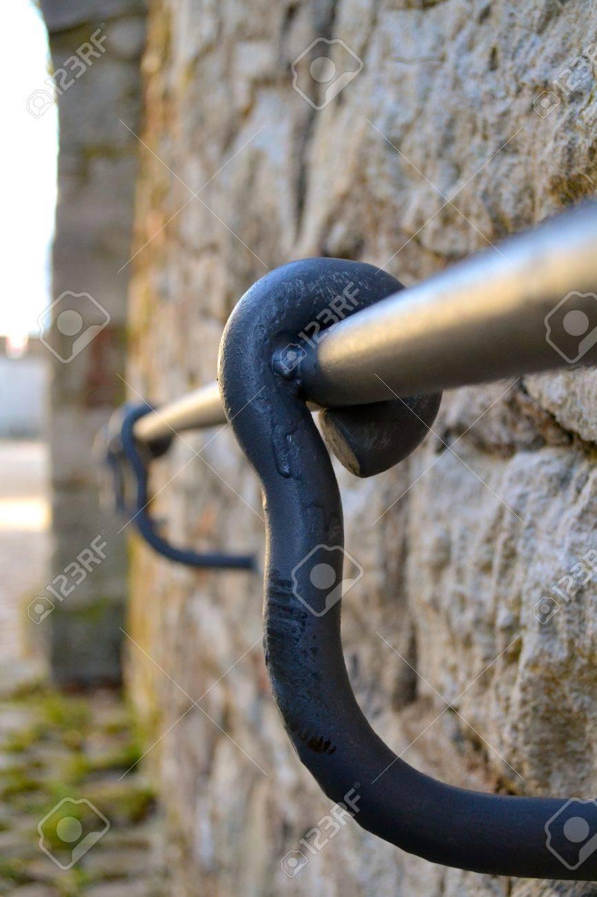 Metal banister Stock Photo - 18218075