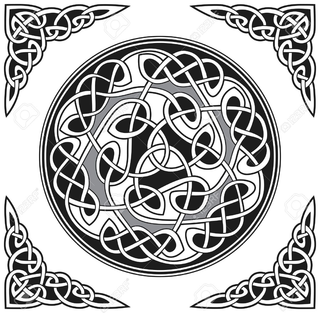 Celtic vector design Stock Vector - 8504044