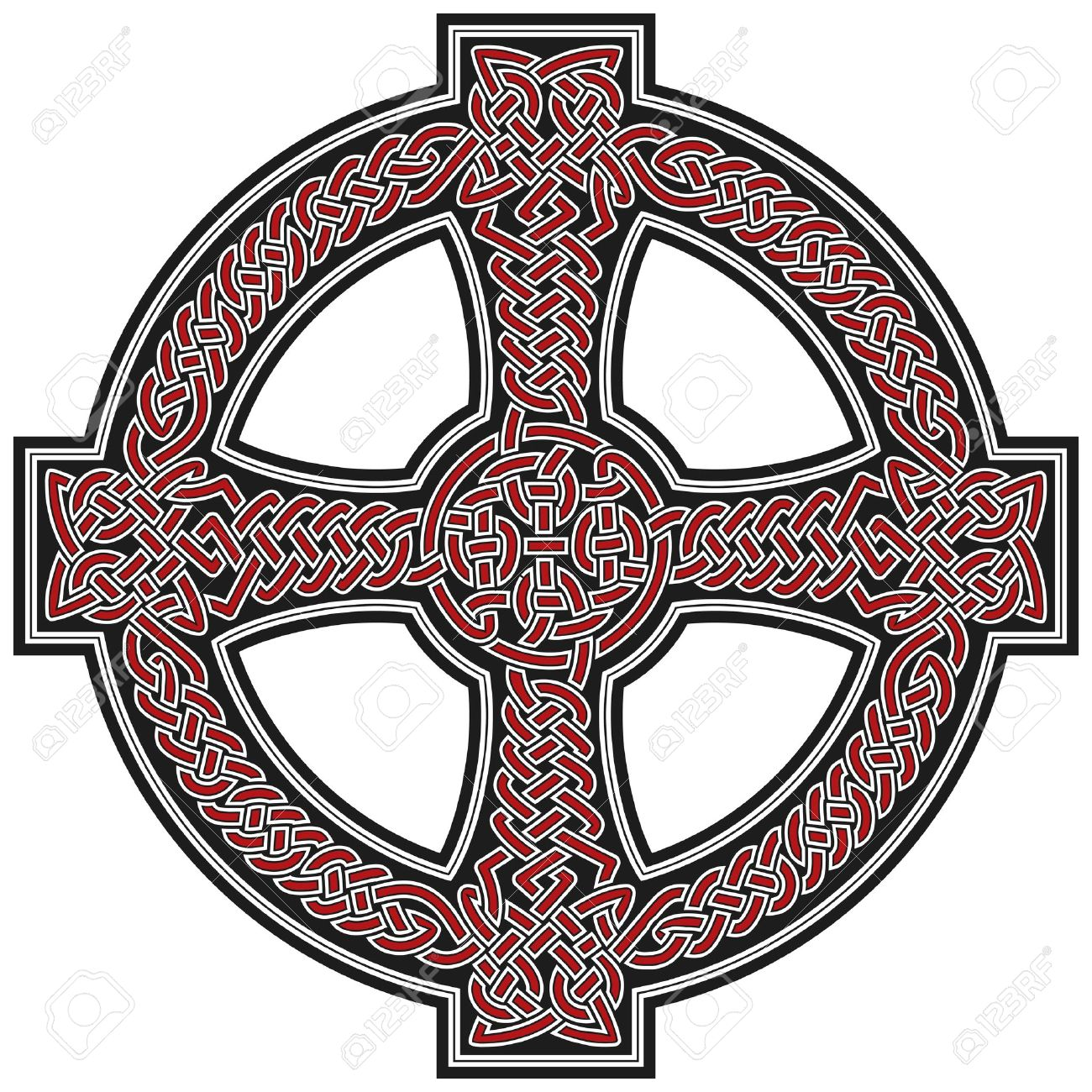 Celtic Cross Design Element Royalty Free Cliparts Vectors And Stock Illustration Image 8504047