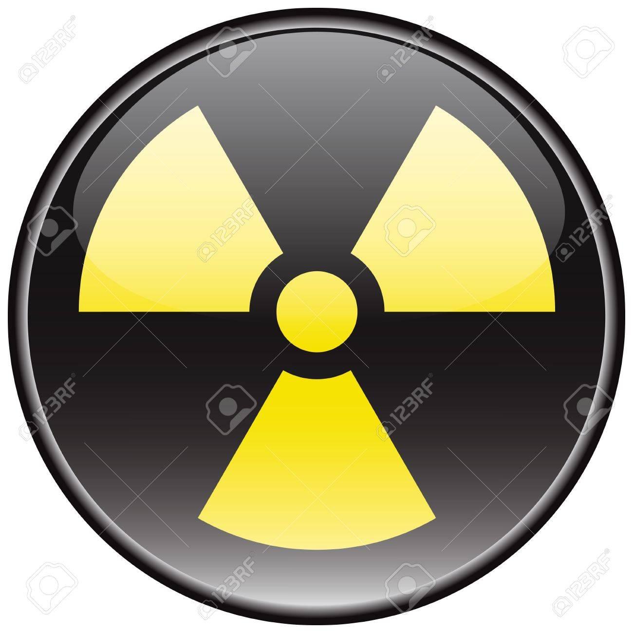 Radiation vector sign Stock Vector - 8504263