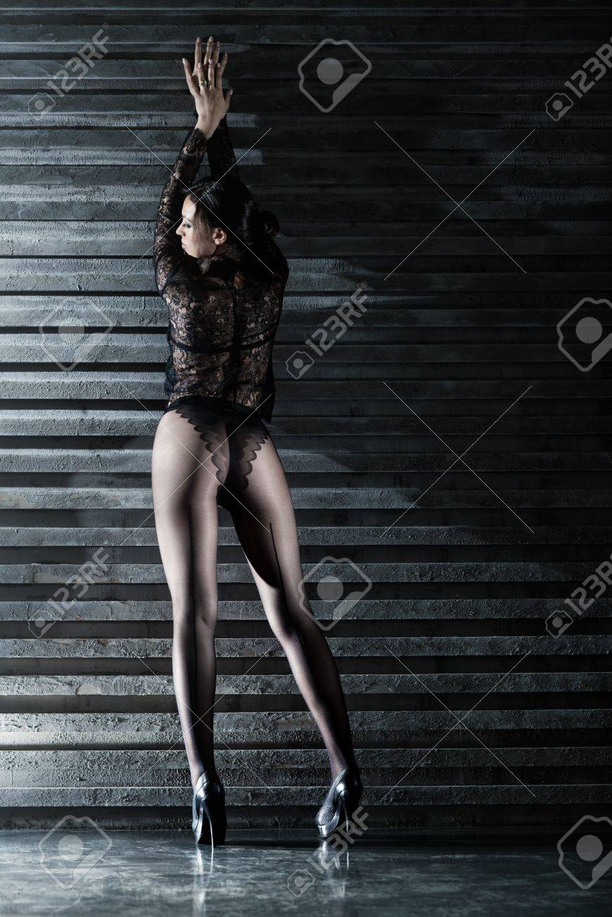 Young sexy woman backside view. Stock Photo - 11743497