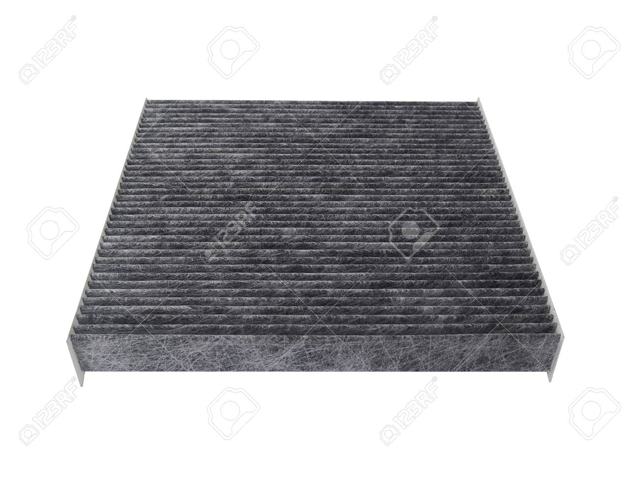 new carbon car air conditioner filter isolated on white background,Auto