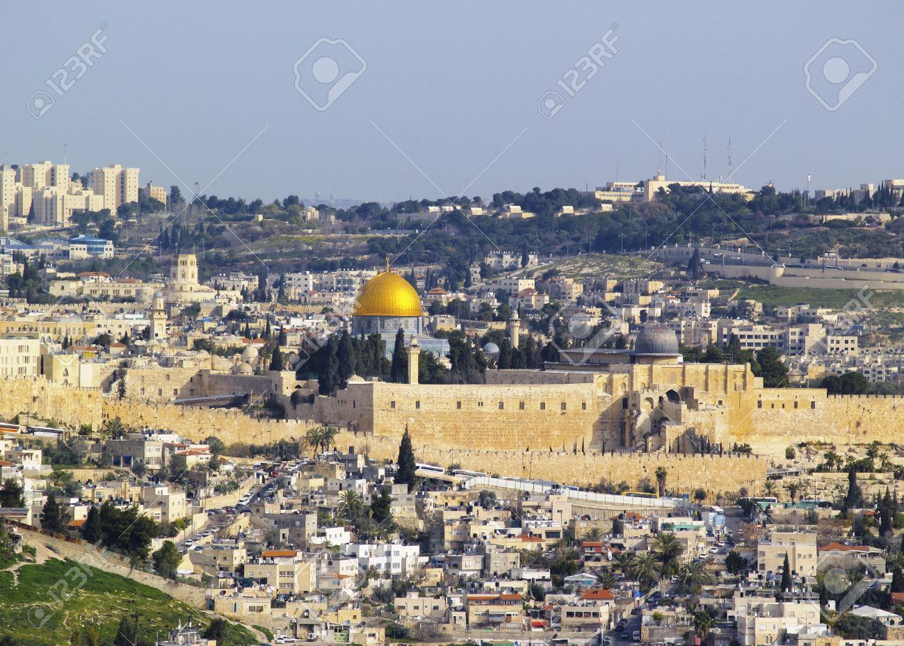 Jerusalem Cityscape, Israel Stock Photo - 14940576