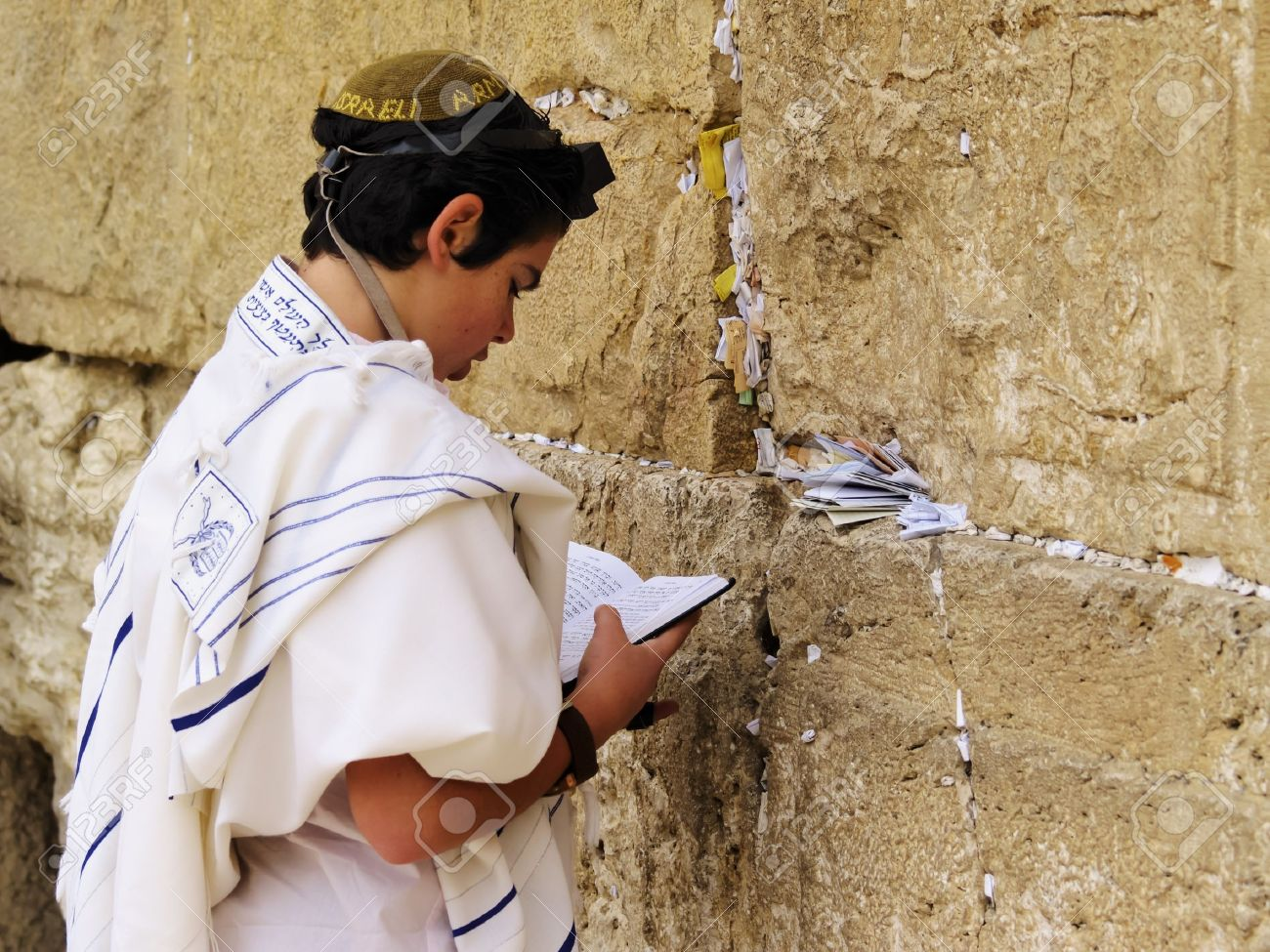 Wailing Wall Praying