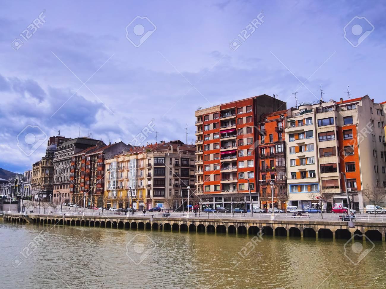 ビルバオ、スペイン、バスク国ビ...
