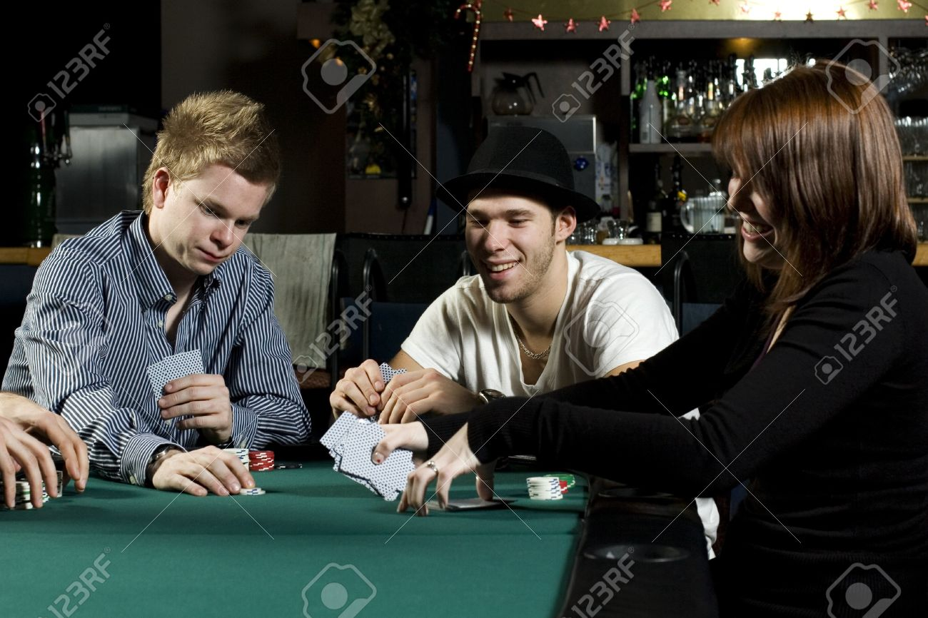 People playing poker around table in bar stock photo picture and people playing poker around table in bar stock photo 4237100 watchthetrailerfo