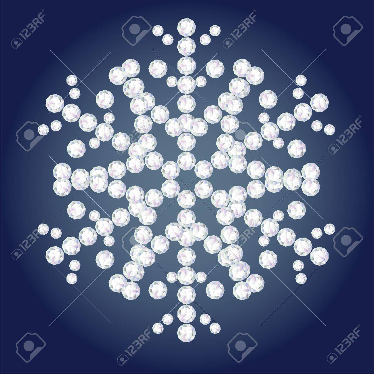 diamond flake Stock Vector - 18093028