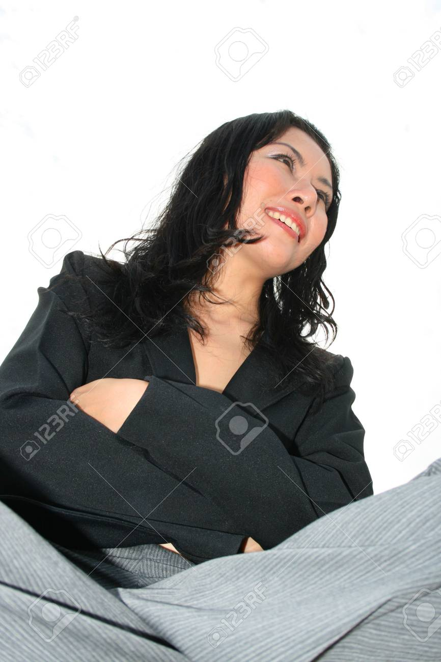 Asian business woman outdoors in Thailand. Stock Photo - 8026250