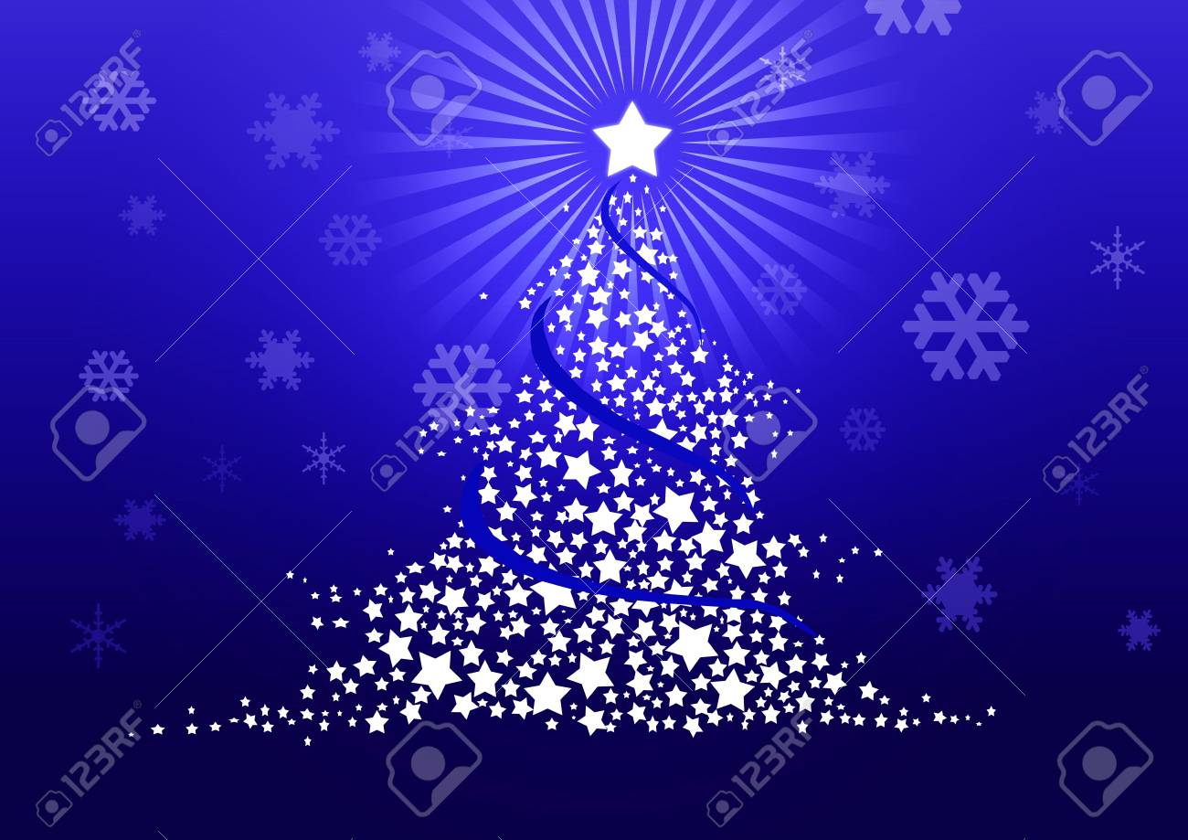 Christmas tree illustration Stock Illustration - 8329235