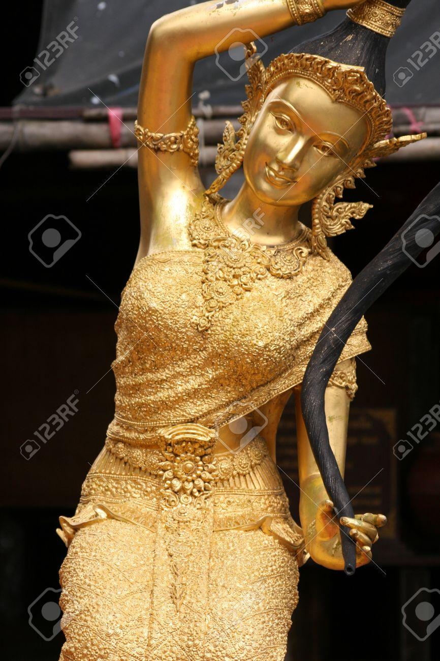 Buddhist angel, Thailand. Stock Photo - 8631079