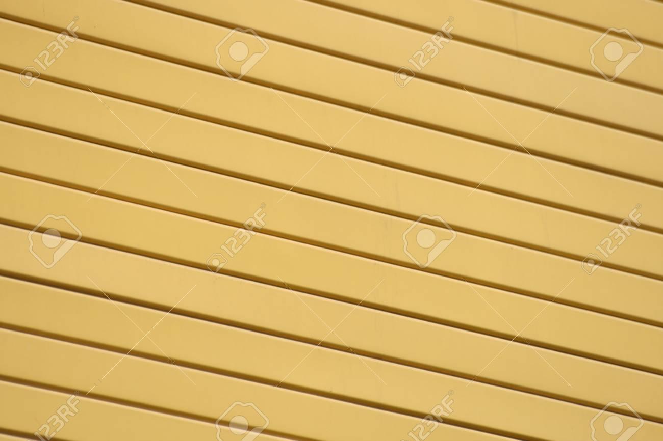 Yellow striped background. Stock Photo - 8541518