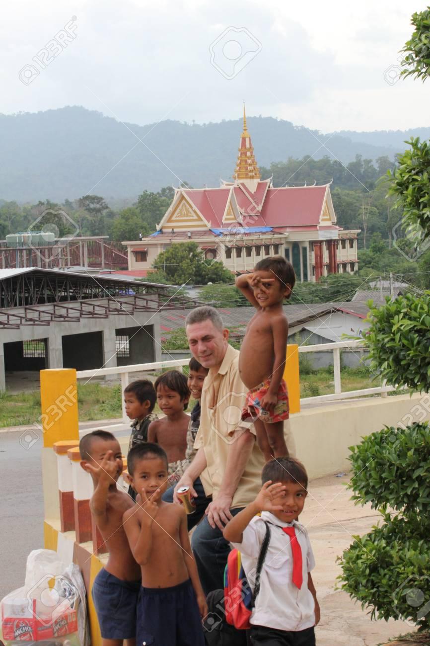 Poor children, Cambodia. Stock Photo - 10950216
