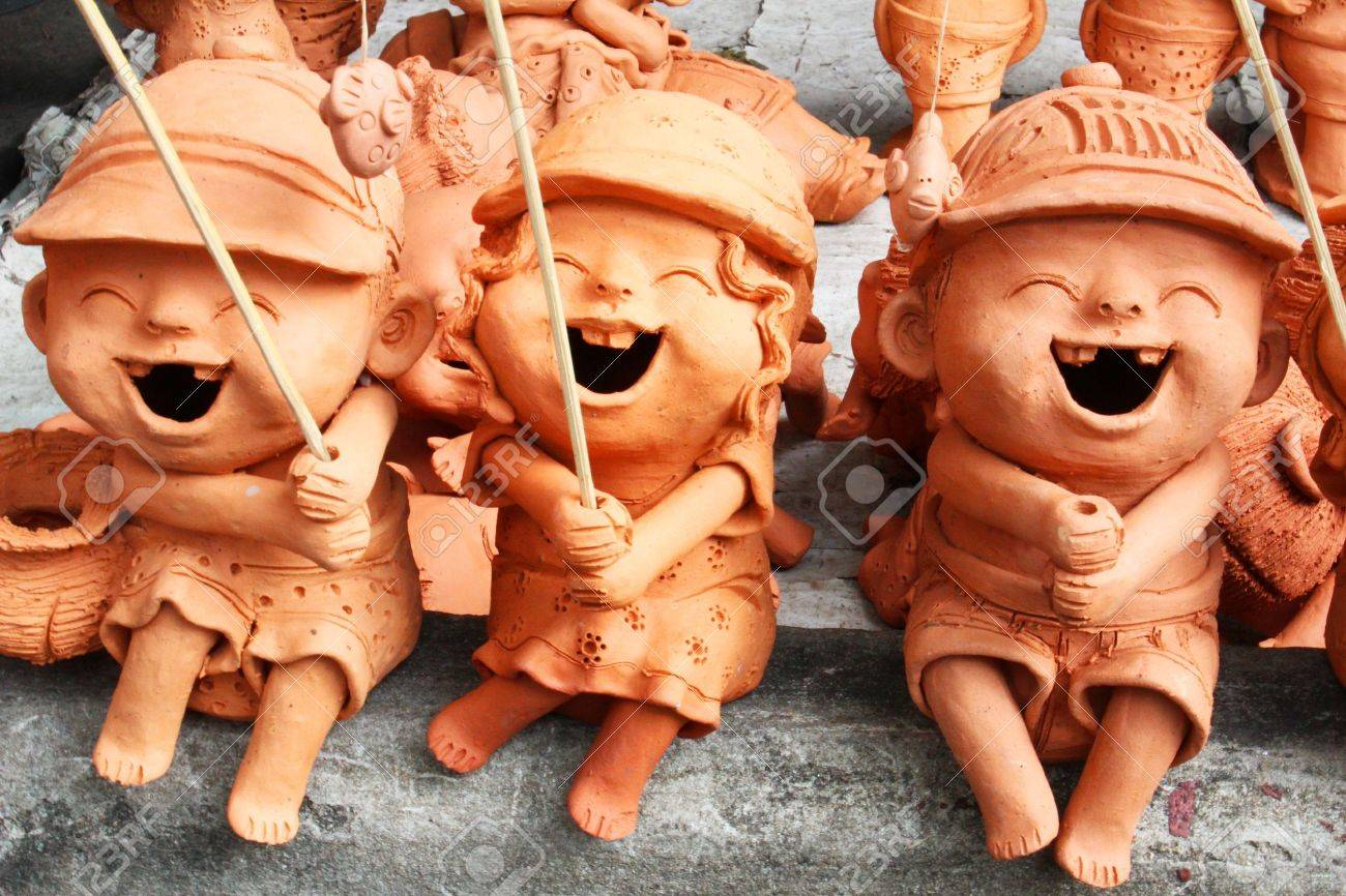 Garden Figures For Sale In Bangkok Thailand Stock Photo Picture