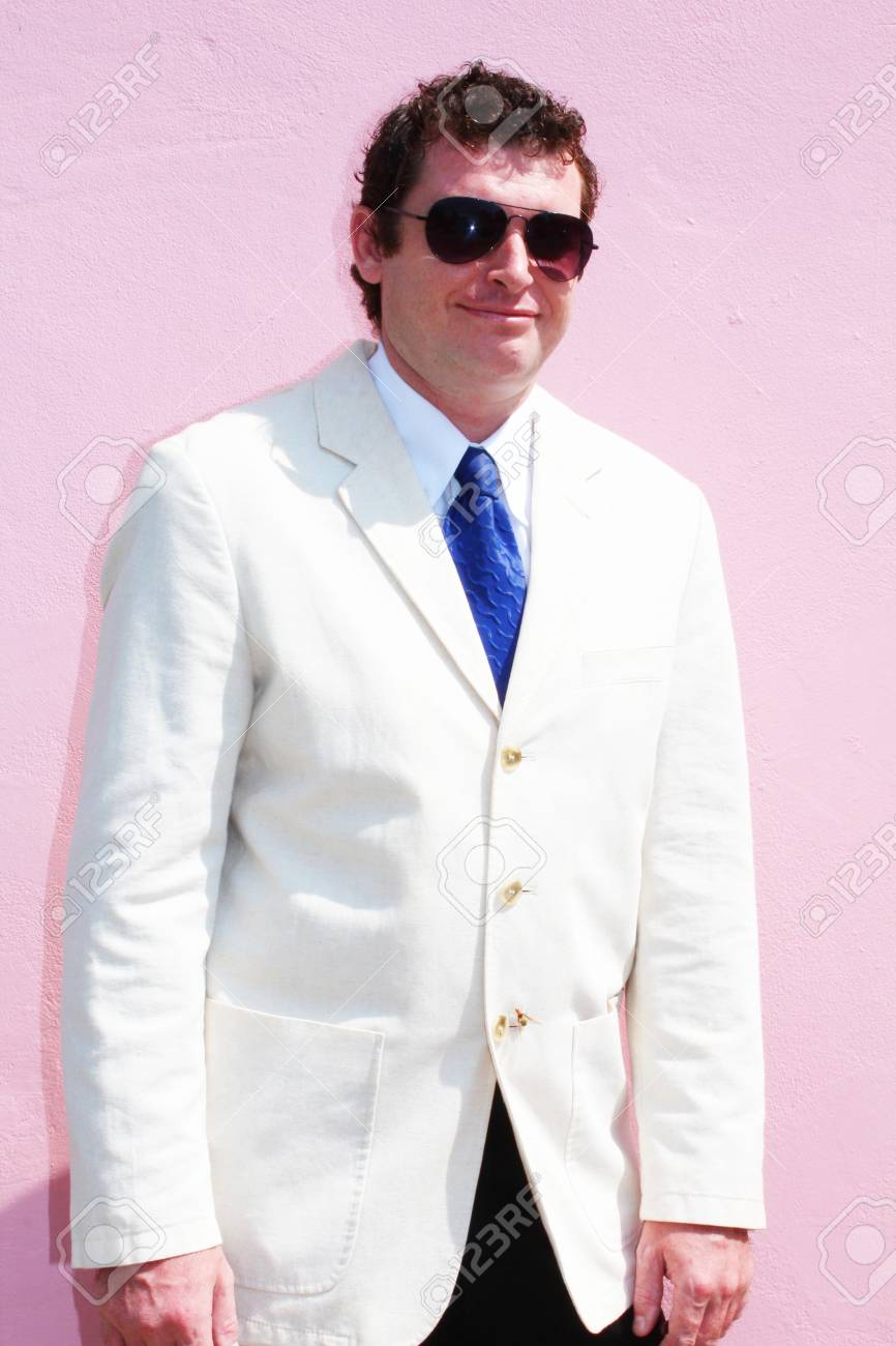 Business man in a white suit in Thailand Stock Photo - 15451169