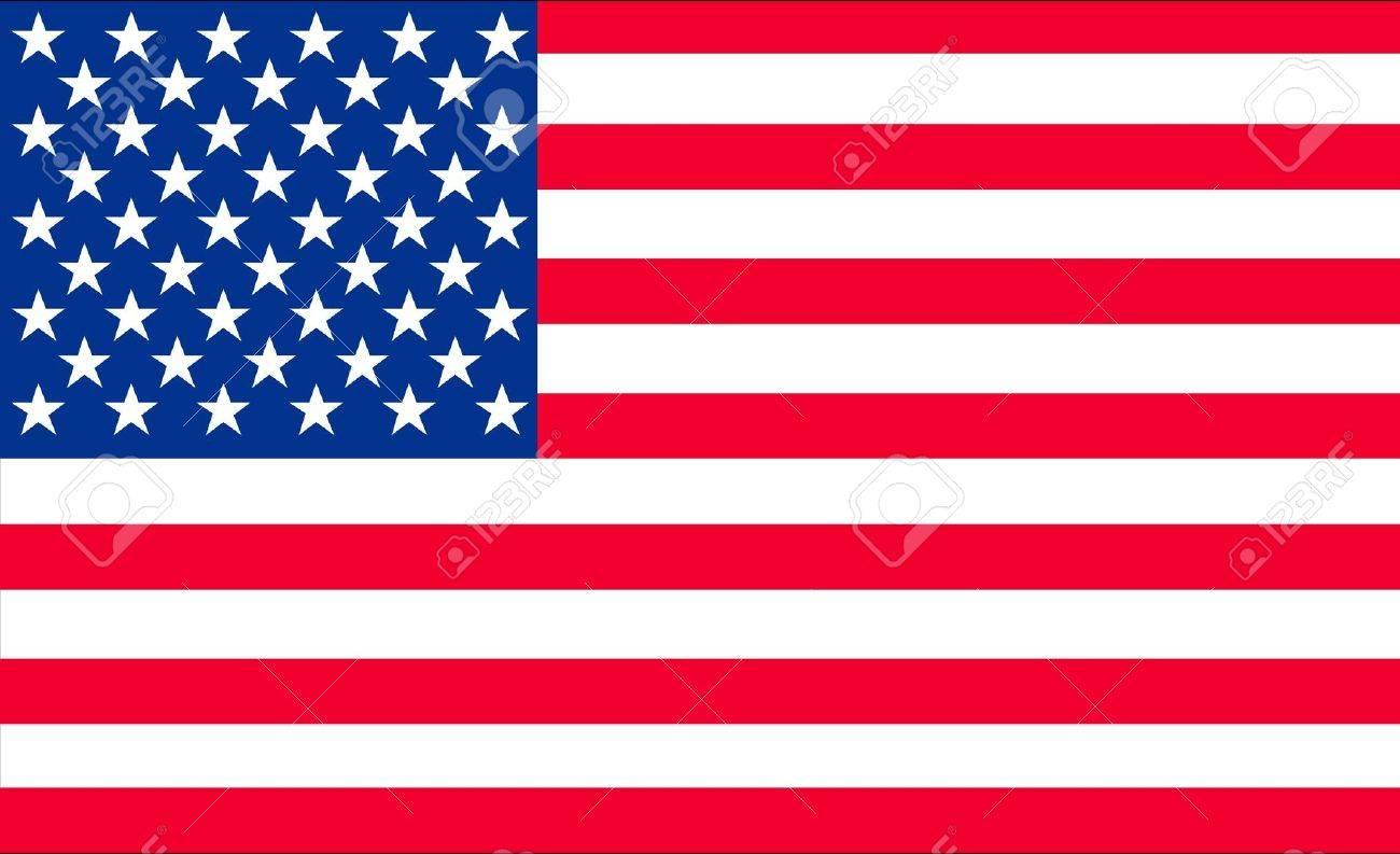 アメリカの国旗のイラスト の写真素材画像素材 Image 14157908