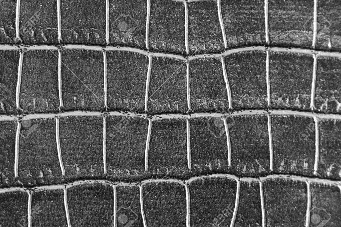 Black Crocodile Skin Texture As A Wallpaper