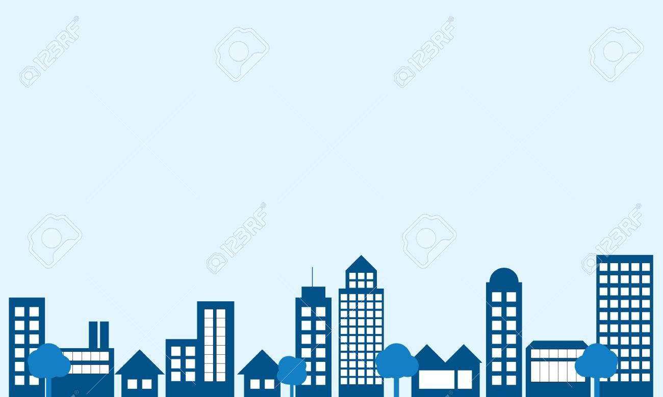 vector background of city building royalty free cliparts vectors rh 123rf com vector building corp vector building png