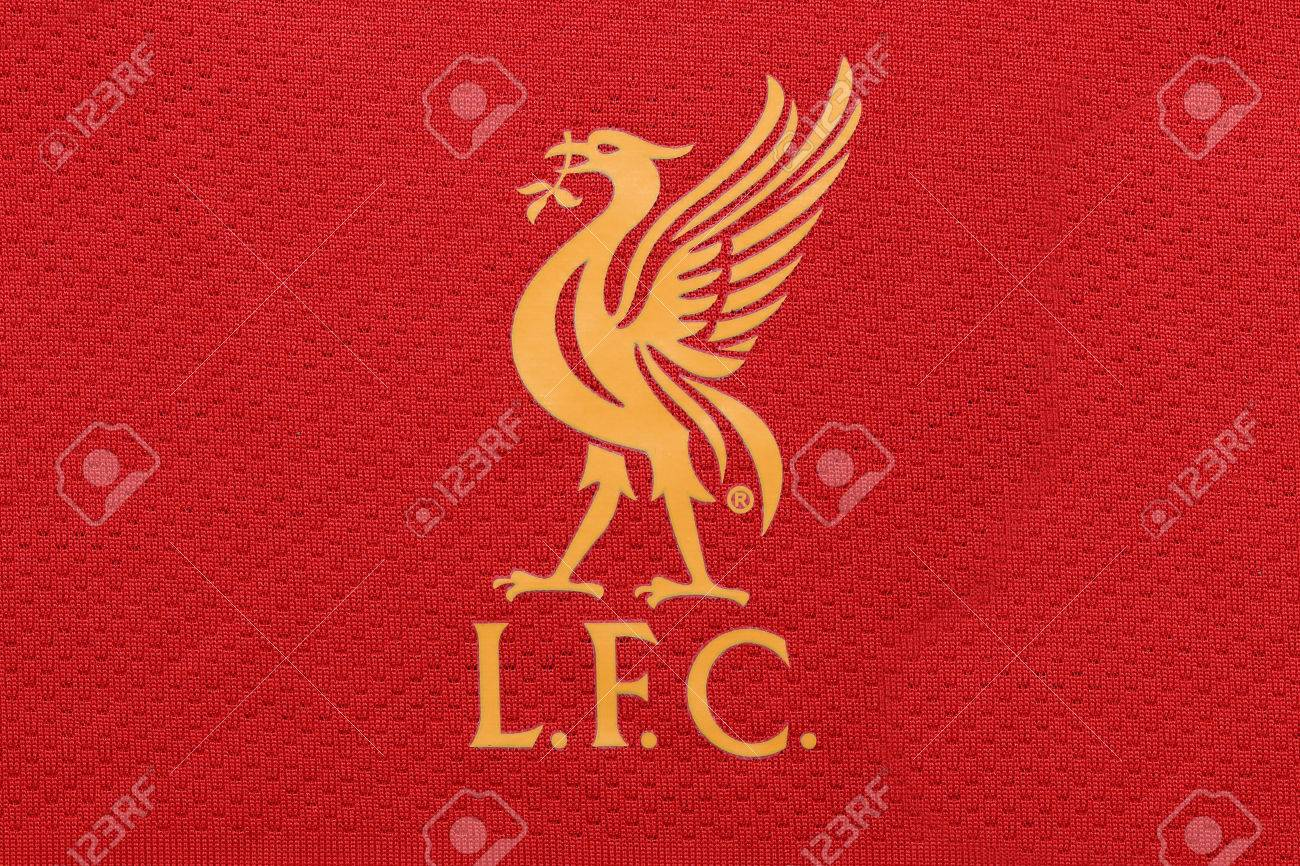 new concept 2f3b3 b5a82 BANGKOK, THAILAND - JULY 24, 2016: The Logo of Liverpool Football..