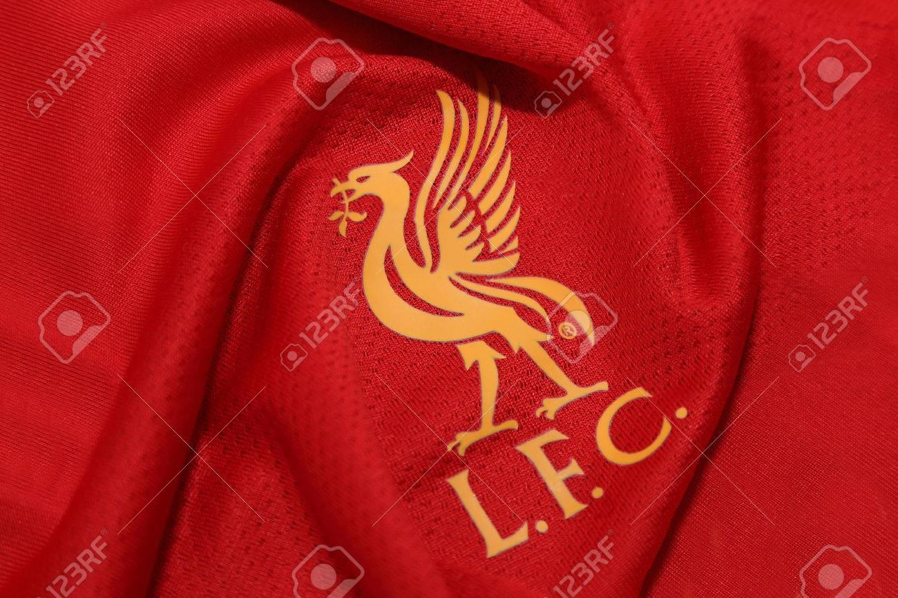 new concept f421c 59279 BANGKOK, THAILAND - JULY 24, 2016: The Logo of Liverpool Football..