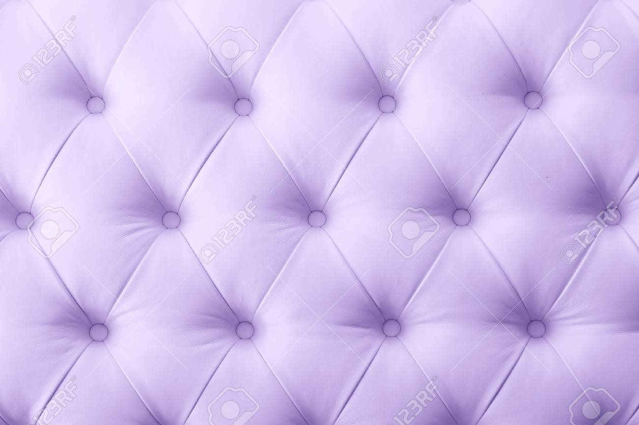 Background Of Purple Leather Sofa Texture Stock Photo   62257189