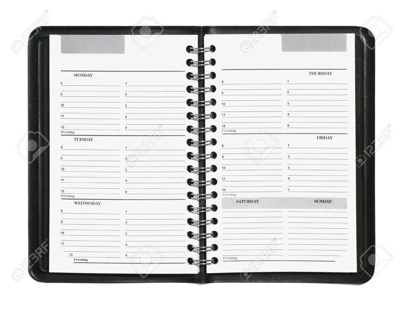 free hourly schedule planner