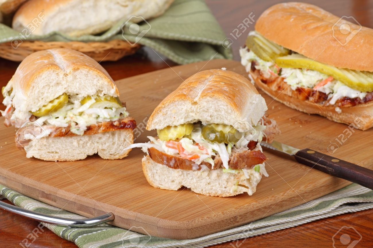 Sliced Pork Sandwich Ideas Barbecue Pork Sandwich Sliced