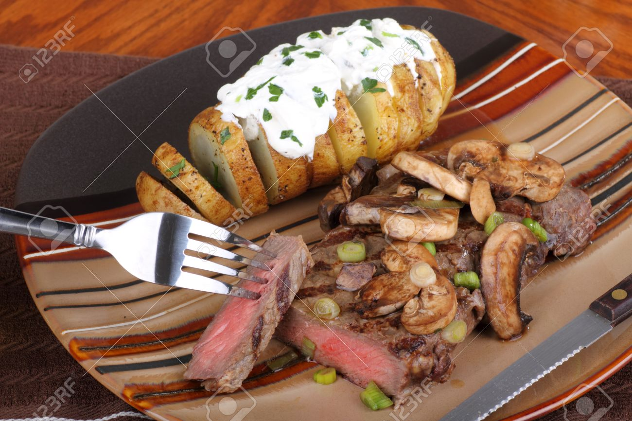 Grilled Steak and Potatoes with Mushrooms recommendations