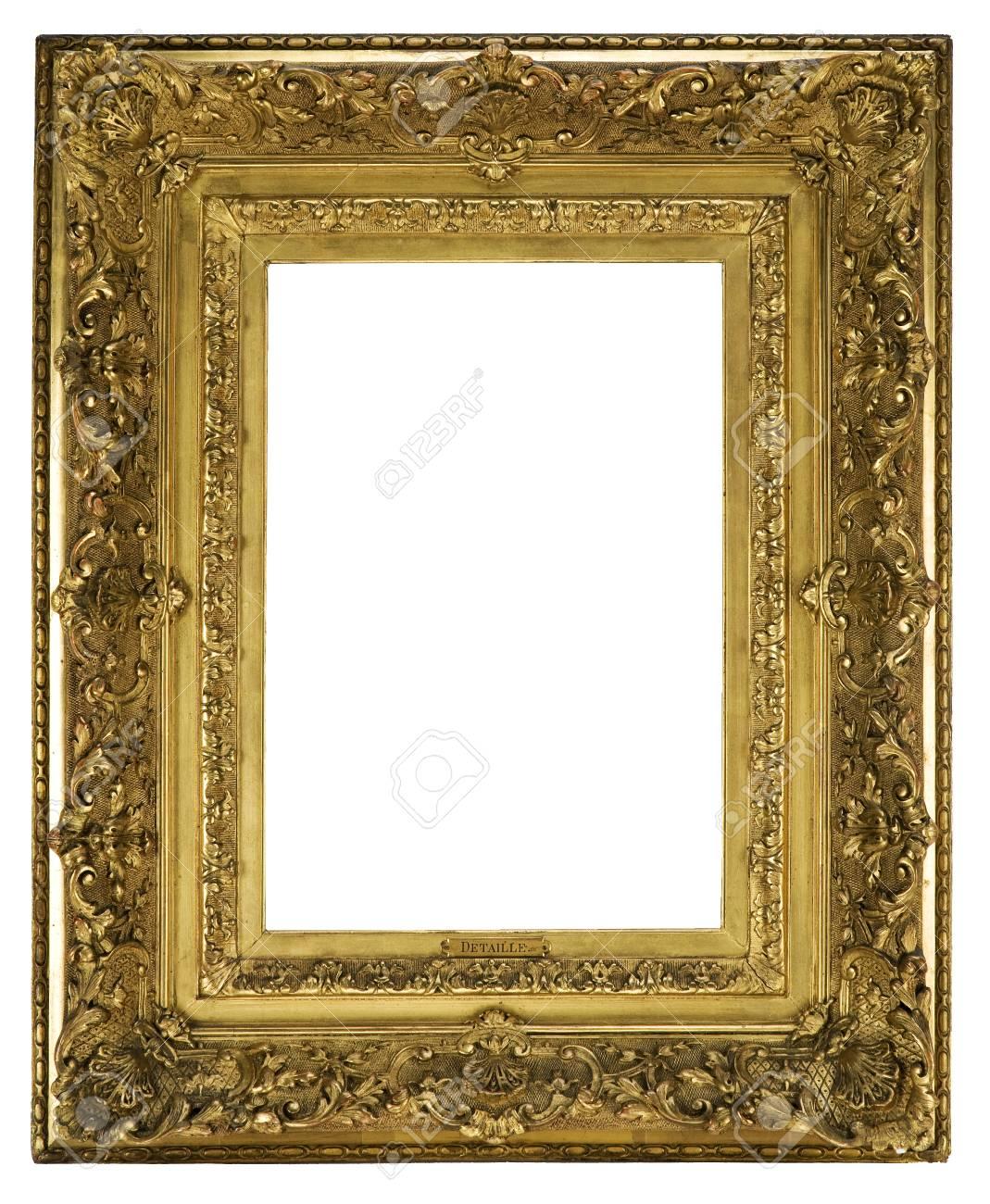 Alter Antiker Bilderrahmen Kunstvoll Ausführlich Und Für ...