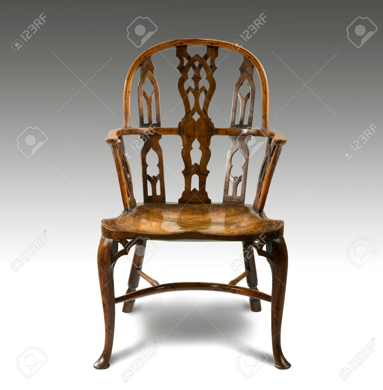 Lovely antique Windsor chair Stock Photo - 47681755 - Lovely Antique Windsor Chair Stock Photo, Picture And Royalty Free