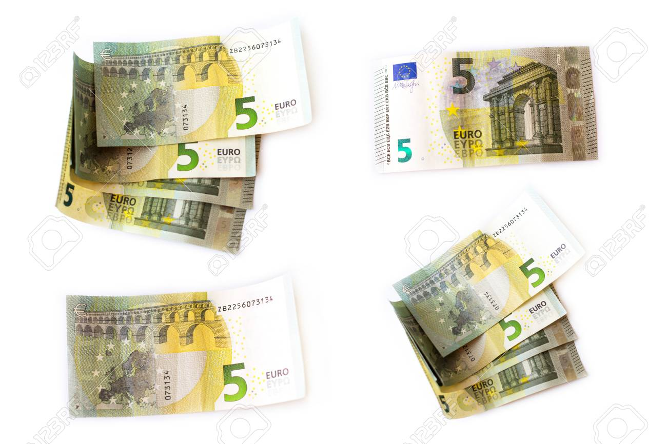 Set 5 euro banknotes are in denominations of five euros symbol set 5 euro banknotes are in denominations of five euros symbol of european currency to biocorpaavc Images