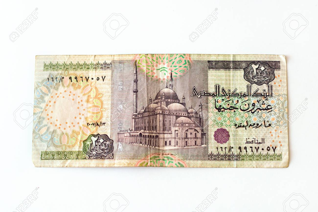 20 egyptian pounds old banknote denominations of twenty egp 20 egyptian pounds old banknote denominations of twenty egp symbol of egypt currency to biocorpaavc Images