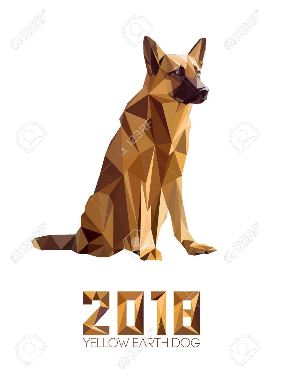 Dog is symbol of new 2018 year according to chinese calendar dog is symbol of new 2018 year according to chinese calendar year of yellow earth biocorpaavc