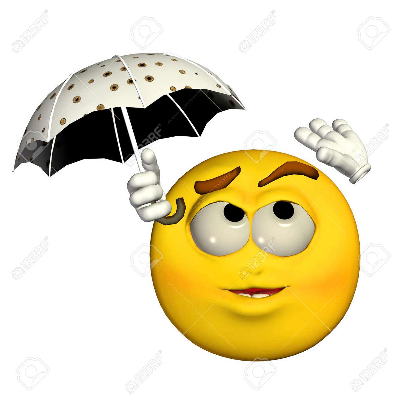12675128-ilustraci%C3%B3n-de-un-emoticono-amarillo-que-sostiene-un-paraguas-aislados-sobre-un-fondo-blanco.jpg