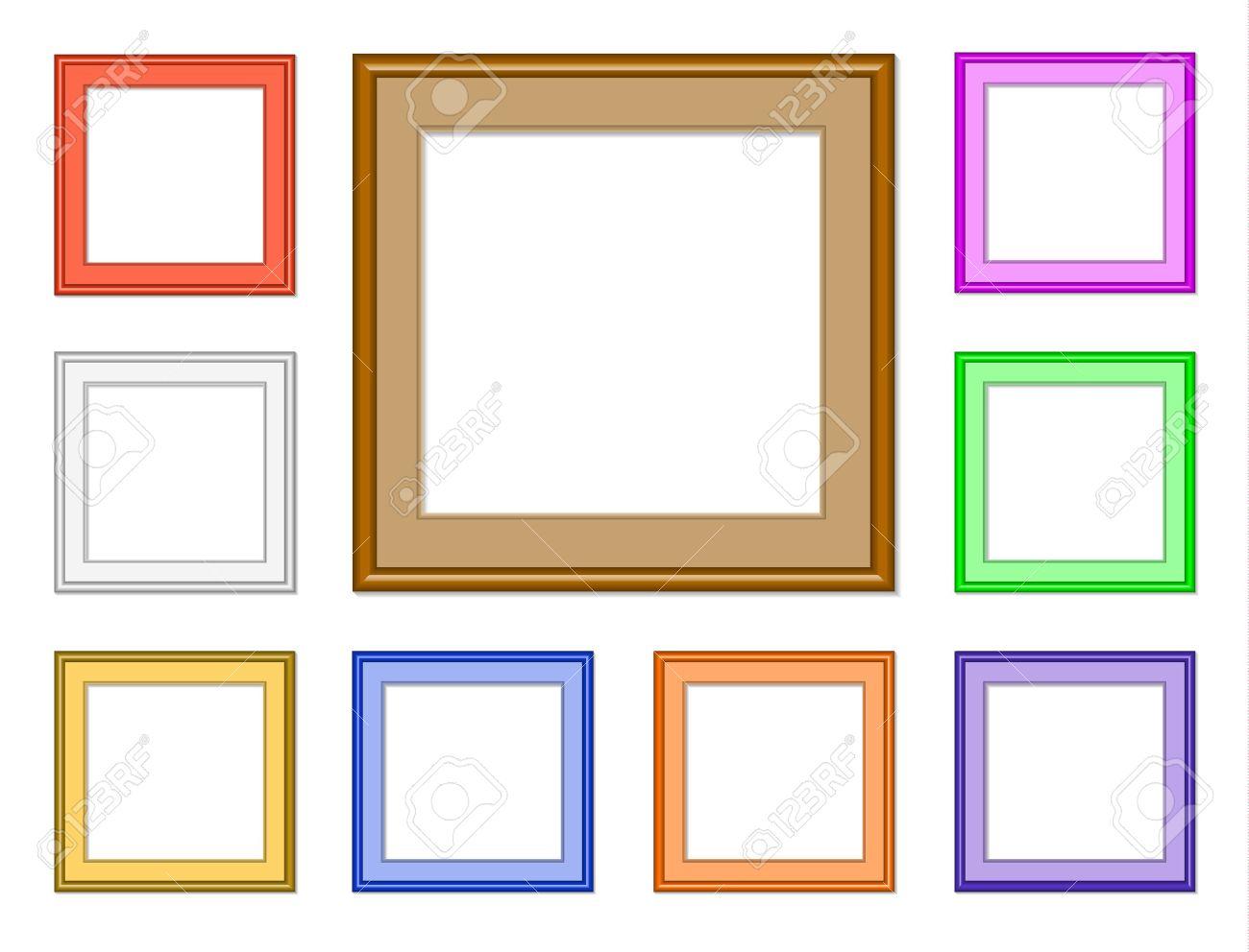Dorable Marcos Cuadrados Galería Ornamento - Ideas de Arte Enmarcado ...
