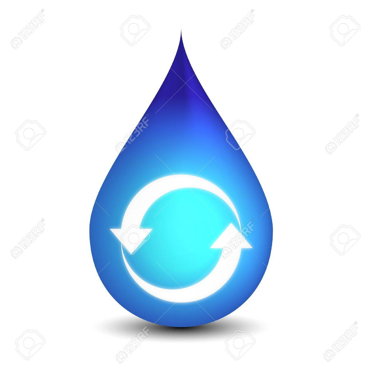 Clean recycle water Stock Vector - 11995742